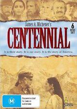 CENTENNIAL : THE COMPLETE TV SERIES (6 disc)  -  DVD  UK Compatible