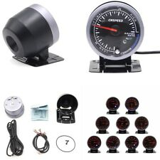 """60 mm 2.5"""" Step Motor Dual Color LED rapporto aria/combustibile Gauge MONITOR titolare"""