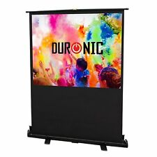 Duronic FPS60 /43 Ecran de projection autoportatif de 60'' 4:3 / 122 x 91 cm