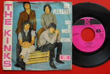 "KINKS MR.PLEASANT/THIS IS WERE I BELONG 1967 RARE GERMAN 7"" PS"