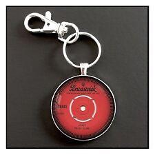 Patsy Cline Record  Album Photo Keychain Charm