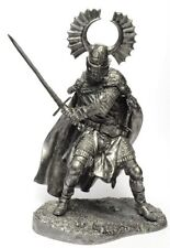 Tin soldier, figure. Teutonic knight of the 15th century 90 mm