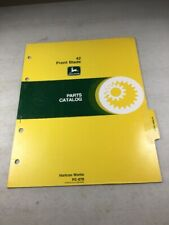 John Deere 42 Front Blade Parts Catalog Manual