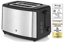 WMF Bueno Toaster Doppelschlitz Brötchenaufsatz 7 Bräunungsstufen Edelstahl