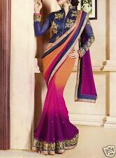 Veeraa Saree Exclusive Beautiful Designer Bollywood Indian Partywear Sari 166