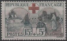 """FRANCE STAMP TIMBRE N° 156 """" CROIX ROUGE 1918, 15c+5c INFIRMIERE """" NEUF xx TTB."""