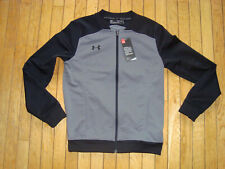 Under Armour Fitted Zip Up Sweat Shirt Jacket Men'S Size Small Bnwt@$65.00