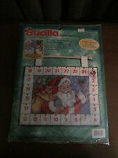 BUCILLA COUNTDOWN TO CHRISTMAS (ADVENT WALL HANGING) CROSS STITCH KIT #83816