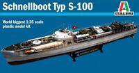 Italeri 1/35 German World War II Schnellboot Plastic Model Kit 5603 ITA5603