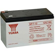 Yuasa Np17-12 Batteria Ermetica al Piombo 12v 17ah equivalente a FIAMM Fg21803