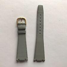 Vintage Tissot TwoTimer Grey Leather Strap Short Type