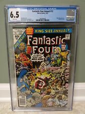 """Fantastic Four King Size Annual #13 """"MARVEL COMICS"""" CGC 6.5 **FREE SHIPPING**"""