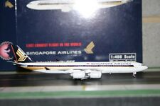 Phoenix 1:400 Singapore Airlines Airbus A340-500 9V-SGE (PH4SIA1047) Model Plane