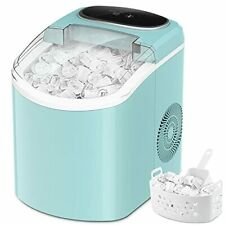 Ice Maker Machine for Countertop with Self-Cleaning, Portable Electric Ice Machi