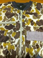 Mountain Prairie Hunting Camo Jacket mens M Reversible Water-proof coated