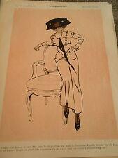 Parisiennette L'esprit d'un démon coeur d'un ange doigt fée Print Art Déco 1909