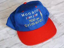 Casquette cap 700 ans GRIMALDI 1297 - 1997 Principautée de Monaco Monte Carlo
