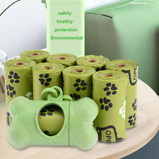 New listing Dog Pet Waste Poop Bags Unscented Refill Rolls Pick Up|No Leaks