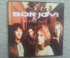 BON JOVI THESE DAYS FIRST PRESS COLLECTORS EDITION CD 1995