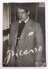 Very Rare 1947 Samuel Kootz Gallery Picasso Exhibition Brochure 1st US Show