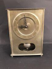 Zinn Uhr Quartz Reinzinn 20,5 x 14,5 cm 1235 Gramm 25183