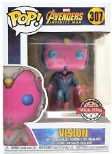 Funko Pop Vision # 307 Marvel Avengers Infinity War Vinyl Figure