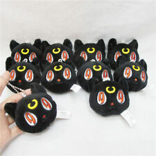 Sailor Moon Black Cat Luna Diana Plush Stuffed Doll Toy Keychain Keyring Toy 8cm