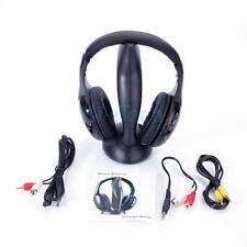 2X Wireless Headphones Stereo Headsets For FM Radio Mp4 TV CD/DVD PC VCD Player