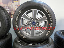 NEW FORD F150 F-150 FX4 18 INCH TAKEOFF WHEELS AND TIRES SET OF 4