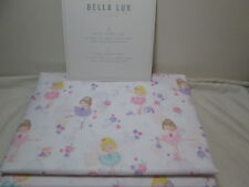 Bella Lux Children Collection Twin Sheet Set BALLERINA DANCERS ~ Pink, Purple