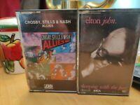 Music cassette tapes lot of 10..lot 3 .fleetwood mac doobie brothers