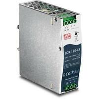 Trendnet 120 W Single Output Industrial Din-rail Power Supply - 48 V Dc Output