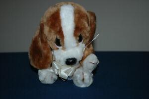Vintage Applause Sad Sam The Baby Puppy Dog Plush Toy