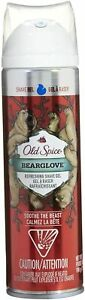 Old Spice Bearglove Shave Gel 7 Oz (198 g) - Discontinued