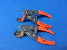 2 O.K. Tools WIRE STRIPPER Cut & Strip Tool 3907 Includes 26 24 22 stripper