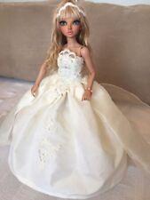 minifee msd bjd wedding dress/robe de mariée minifée fairyland