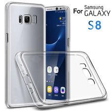 Funda Carcasa Gel Silicona Transparente Ultra-Fina para Samsung Galaxy S8