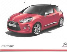 CITROEN DS 3  SALES BROCHURE FEBRUARY 2010