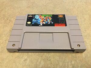 "Chavez Boxing II (Super Nintendo Entertainment System, 1994) ""RARE"" AUTHENTIC"