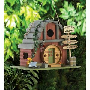 Vintage Winery Birdhouse NEW in Box