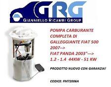 Pompa Carburante Benzina 500- FIAT Panda(169) 09/2003>1.2 44KW 1.4 LPG 51KW