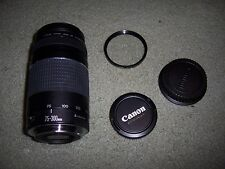 USED Canon EF 75-300mm F/4-5.6 III  Lens, Good