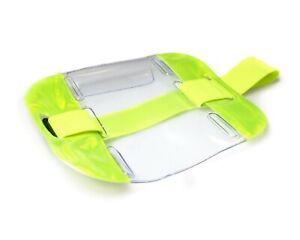 SIA Security ID Armband Badge Holder - Doorman / Bouncer / Security Guard Hi-Vis