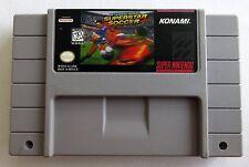 International Superstar Soccer (Super Nintendo Entertainment System, 1995)