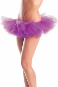 Organza Tutu Skirt Layered Mesh Short Mini Petticoat Costume Dance BW1262