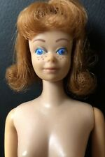 VINTAGE 60s Barbie Doll Mattel Midge Red Titian Orange Hair Freckles Japan 1962