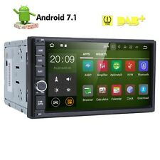 "Android 7.1 Universal 2DIN Car in Dash GPS Radio Stereo MultiMedia Player 7"" HD"
