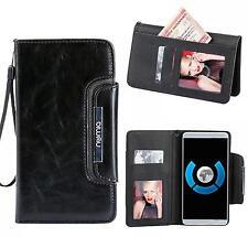 Handy Tasche Schutz hülle Case Etui Cover für Sony Xperia Z5 Compact schwarz
