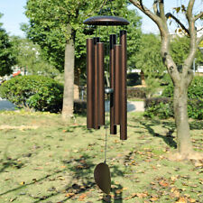 "45"" Large Metal Tube Deep Tone Resonant Bass Sound Church Bell Wind chime"