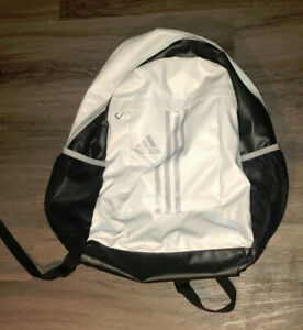 Adidas Black And Gray Backpack Unisex